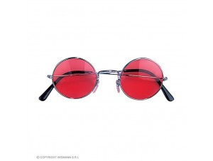 Αποκριάτικα γυαλιά με κόκκινους φακούς