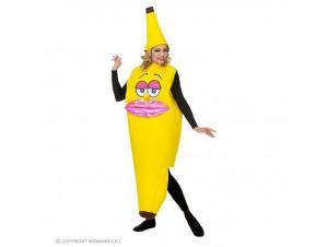 Αποκριάτικη γυναικεία στολή Μπανάνα