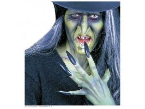 Αποκριάτικο Make up μάγισσας με αξεσουάρ