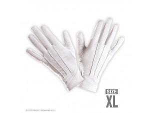 Αποκριάτικα άσπρα γάντια