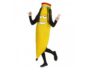 Αποκριάτικη στολή Ρασταφάρι μπανάνα