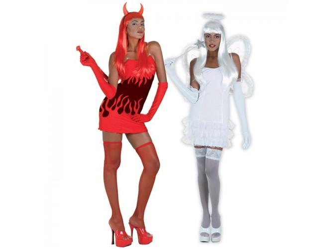Στολή διπλής όψης Sexy Διάβολος - Άγγελος