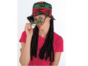 Αποκριάτικο καπέλο Rasta man