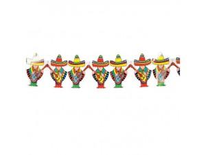 Αποκριάτικη Γιρλάντα Μεξικάνοι