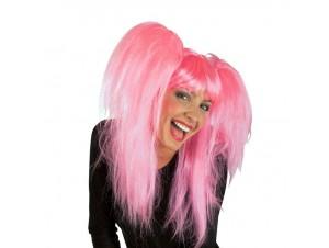 Αποκριάτικη Περούκα Lollipop Ροζ