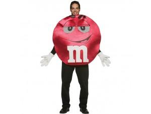 Αποκριάτικη στολή m&m κόκκινη