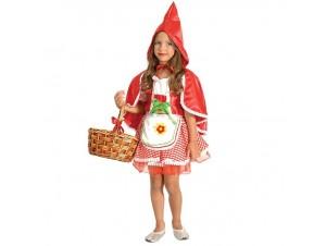 Αποκριάτικη στολή Κορίτσι Κοκκινοσκουφίτσα