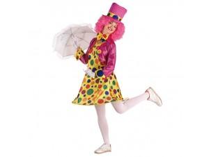 Αποκριάτικη στολή Clown Γυναίκα