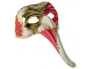 Βενετσιάνικη μάσκα προσώπου Πουλί με μακρύ ράμφος