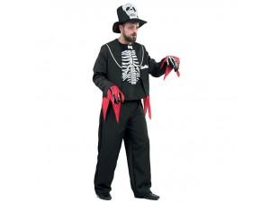 Αποκριάτικη στολή Γαμπρός Σκελετός