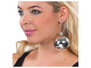 Αποκριάτικα σκουλαρίκια Disco