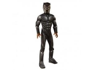 Αποκριάτικη παιδική στολή Black Panther Delux