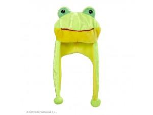 Αποκριάτικο λούτρινο καπέλο Βάτραχος