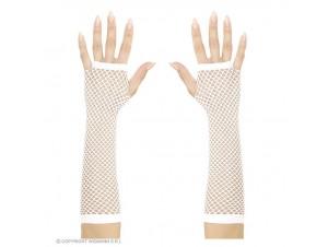 Αποκριάτικα μακριά διχτυωτά γάντια