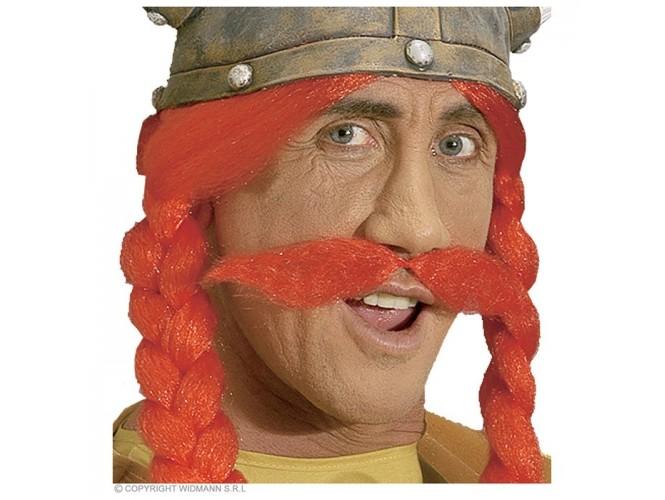 Αποκριάτικο κόκκινο μουστάκι