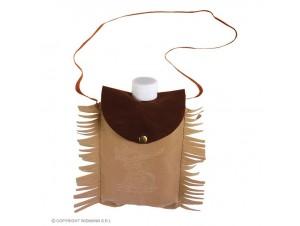 Αποκριάτικο φλασκί Ινδιάνου σε τσάντα