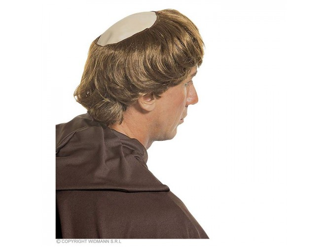 Αποκριάτικη περούκα καλόγερου