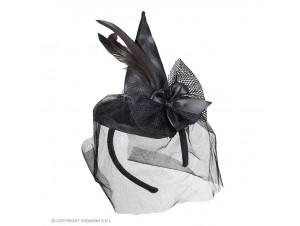 Αποκριάτικη στέκα μάγισσας με καπέλο