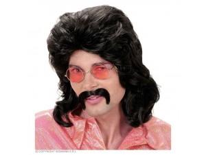 Αποκριάτικο Set 70s με περούκα