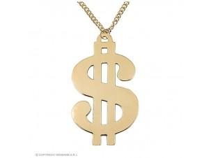 Αποκριάτικο κολιέ δολάριο