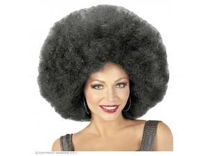 Αποκριάτικη μαύρη άφρο περούκα