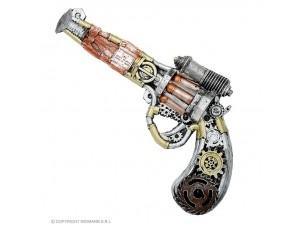 Αποκριάτικο LATEX όπλο Steampunk