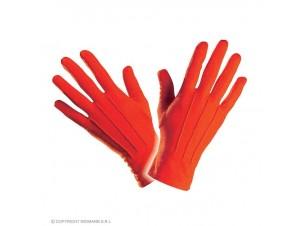 Αποκριάτικο γάντια κοντά κόκκινα