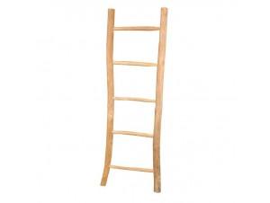 Ξύλινη σκάλα-κρεμάστρα