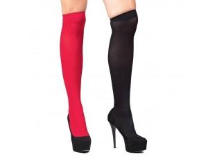 Κάλτσες Ψηλές Κόκκινο-Μαύρο