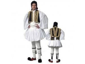 Παραδοσιακή Στολή Εύζωνας Μαύρο Γιλέκι