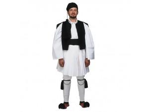 Παραδοσιακή Στολή Τσολιάς Μαύρος