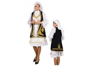 Παραδοσιακή Στολή Σουλιώτισσα Κεντημένη