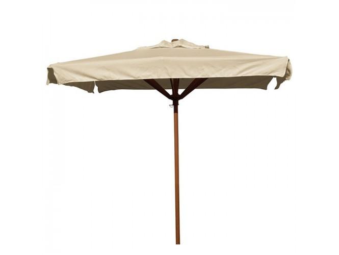 Ομπρέλα Ξύλινη Επαγγελματική