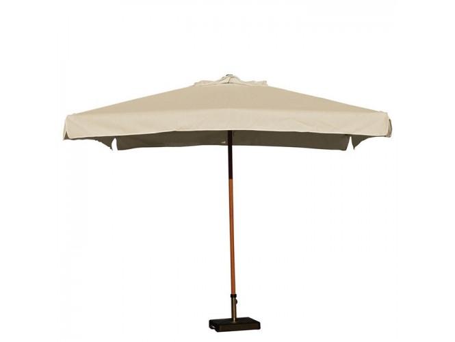 Ομπρέλα Ξύλινη Τετράγωνη PRO