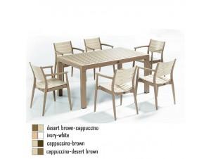 PONTE τραπέζι κήπου 150x90