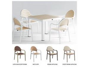 SENZA τραπέζι κήπου 90x90