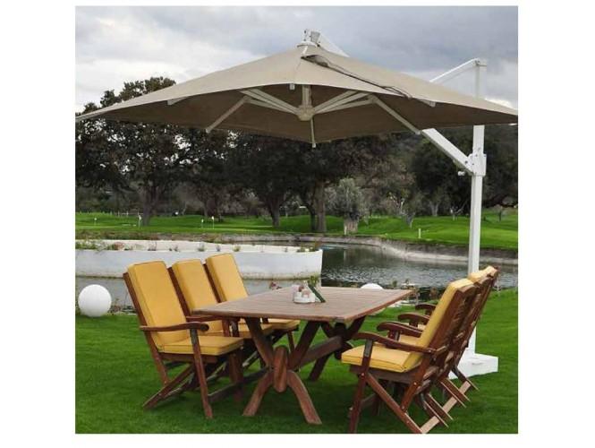 Ομπρέλα με εξωτερικό βραχίονα Sunflower Polyester