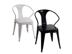 Μεταλλική Στοιβαζόμενη Καρέκλα