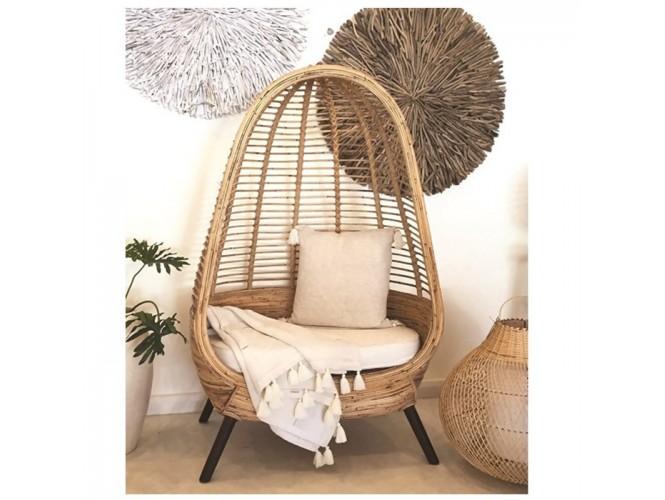 Πολυθρόνα Bamboo 30323 Natural