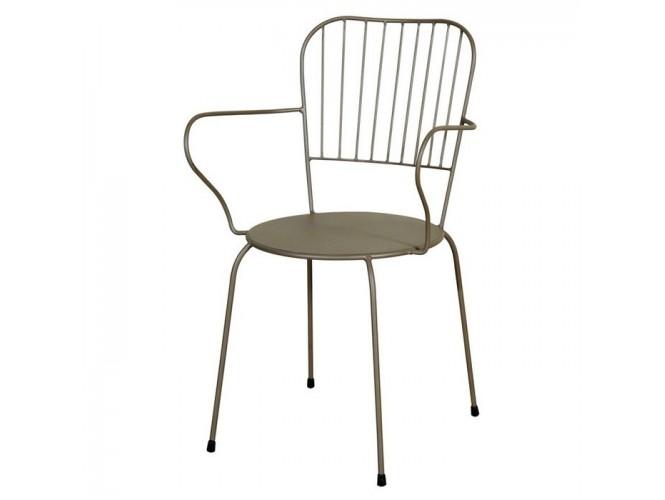 Αγαλβάνιστη Μεταλλική καρέκλα