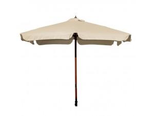 Τετράγωνη ξύλινη Ομπρέλα 250 x 250cm