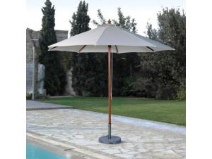 Ομπρέλα Αλουμινίου Στρογγυλή