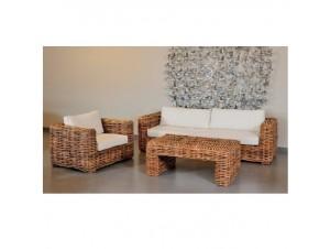 Set Σαλόνι Bamboo από Λυγαριά 31161