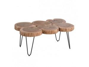 FUEGO Ξύλινο τραπέζι χειροποίητο