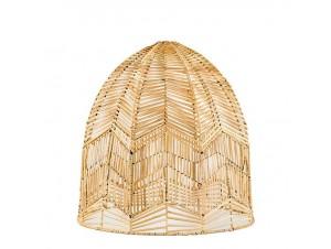 Φωτιστικό οροφής με φυσικό Rattan