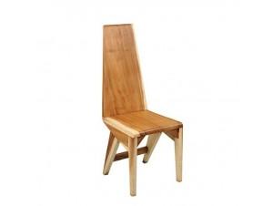 Καρέκλα χειροποίητη από μασίφ suar