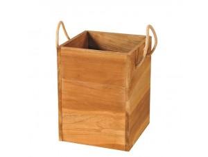 Γλάστρα - κασπό ξύλινο-Teak