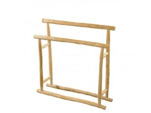 Ξύλινη διπλή κρεμάστρα από Teak