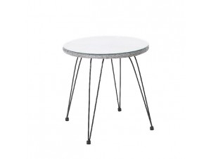 SALSA τραπέζι μεταλλικό Wicker
