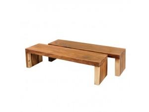 Τραπέζι Coffee table χειροποίητο από κορμό